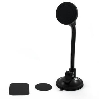Автомобильный магнитный держатель для смартфонов iMount Long Black
