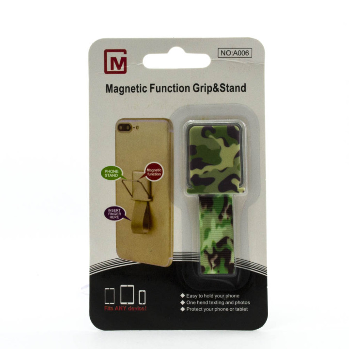 Держатель для телефона Magnetic A006 3in1