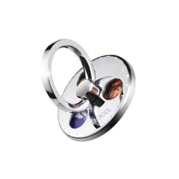 Кольцо-подставка, держатель для смартфона Hoco PH4, Steel