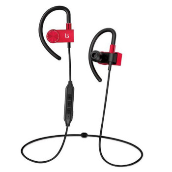 Вакуумные Bluetooth наушники-гарнитура Borofone BE3 Red