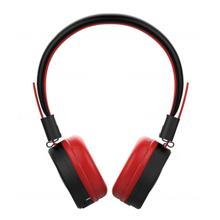 Блютуз стерео наушники-гарнитура Celebrat A4 Red