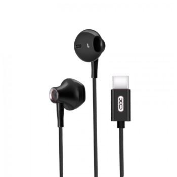 Навушники-гарнітура XO S30 Type-C Black