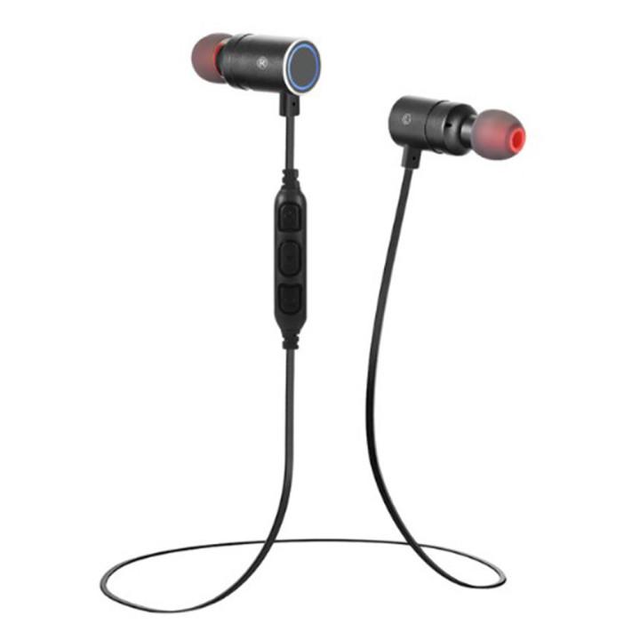 Вакуумные Bluetooth наушники-гарнитура Awei AK8 Sport Black