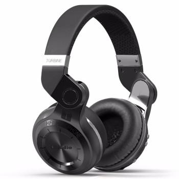 Повнорозмірні Bluetooth наушники-гарнітура Bluedio T2, Black