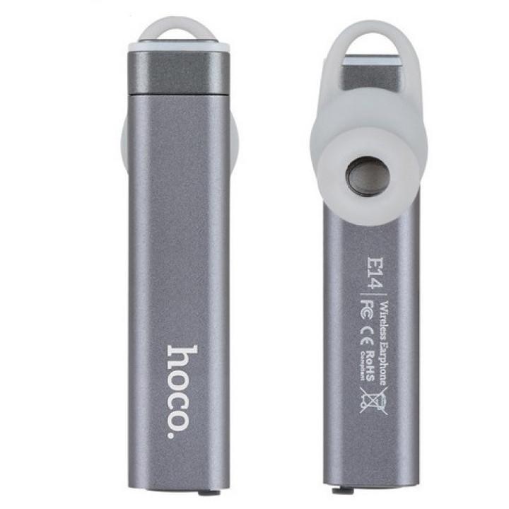 Bluetooth моно-гарнитура Hoco E14 Gray