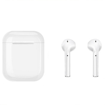 Bluetooth навушники-гарнітура AirPods TWS i10xs-Touch White