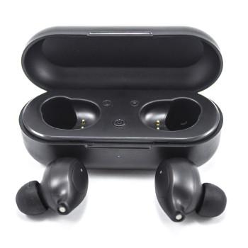 Bluetooth навушники гарнітура Deepbass AirBuds TWS-Q02 Black