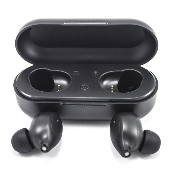 Bluetooth наушники гарнитура Deepbass AirBuds TWS-Q02 Black