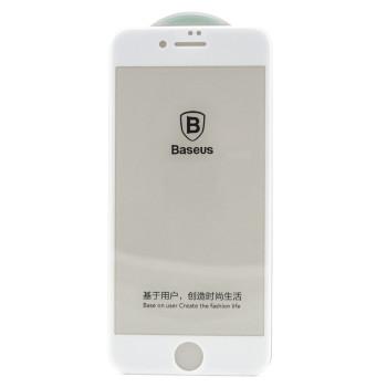 Защитное стекло Baseus 3D Tempered Glass Film для Apple iPhone 7 / 8, White
