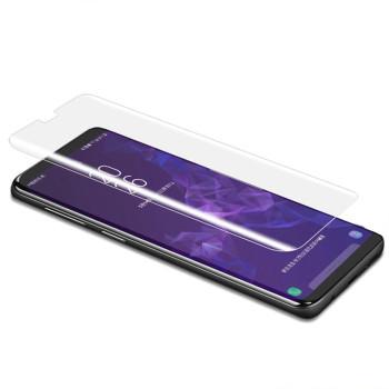Защитное стекло 3D Tempered Glass UV для Apple iPhone XS Max с клеем и лампой, Transparent