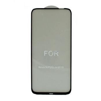 Защитное стекло 0.3mm Full Glue 5D для Huawei P20 Lite 2019 Black