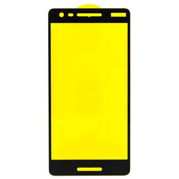 Защитное стекло Full Screen Full Glue 2,5D Tempered Glass для Nokia 2.1, Black
