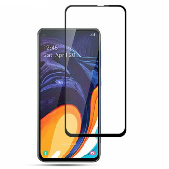 Защитное стекло Full Glue Full Screen 5D для Samsung Galaxy M40 / A60, Black