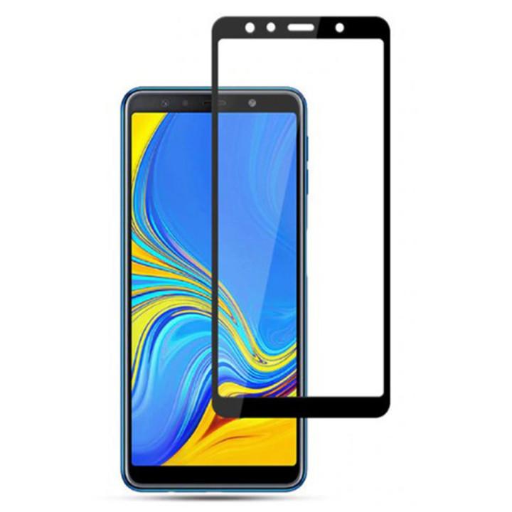 Защитное стекло 2.5D Full Screen для Samsung Galaxy A7 (2018)/ A750 (Full Screen)