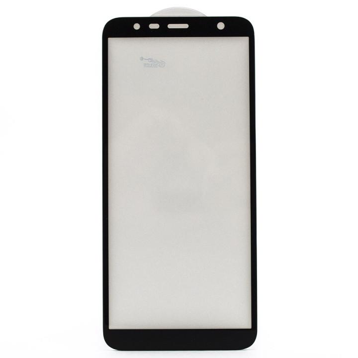 Защитное стекло Full Screen Full Glue 6D Tempered Glass для Samsung Galaxy J4 Plus 2018 (J415) / J6 Plus 2018 (J615), Black