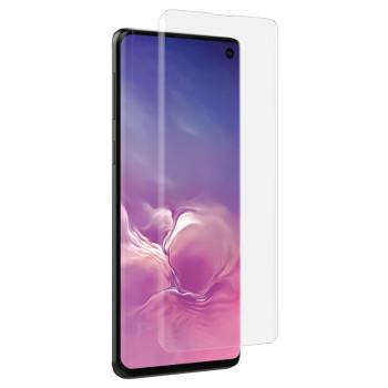 Защитное стекло 3D Tempered Glass UV для Samsung G970 Galaxy S10e с клеем и лампой, Transparent
