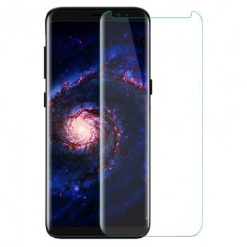 Защитное стекло 3D Tempered Glass UV для Samsung Galaxy S8 Plus с клеем и лампой, Transparent