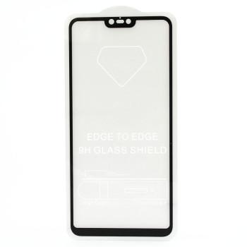 Защитное стекло Full Screen Full Glue 2,5D Tempered Glass для Xiaomi Mi 8 Lite, Black
