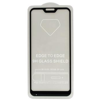 Защитное стекло Full Screen Full Glue 2,5D Tempered Glass для Xiaomi Redmi Mi A2 Lite / Redmi 6 Pro, Black