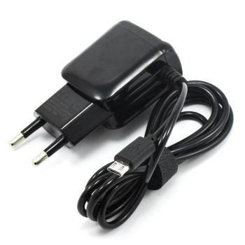 Сетевое зарядное устройство AWM-813 USB 2.1А, micro-USB 1м