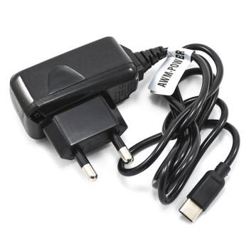 Сетевое зарядное устройство AWM-Power Type-C 1м, Black