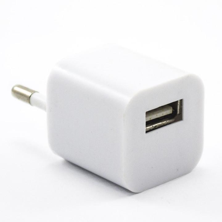 Мережевий зарядний пристрій JF3A777 USB 3G, White
