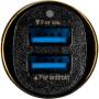 Автомобильное зарядное устройство Gelius Ultra Voyager GU-CC02 2USB 2.4A, MicroUSB,  Black