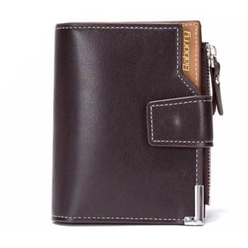 Чоловічий гаманець з еко-шкіри Baborry QB06