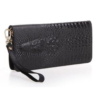 """Жіночий гаманець """"Крокодил"""" із натуральної шкіри"""
