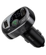 Автомобильный FM-модулятор (трансмиттер) Baseus S-09
