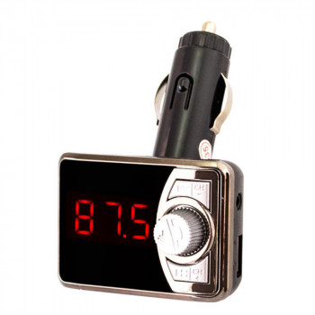 Автомобильный FM-модулятор (трансмиттер) MHZ 582, Black