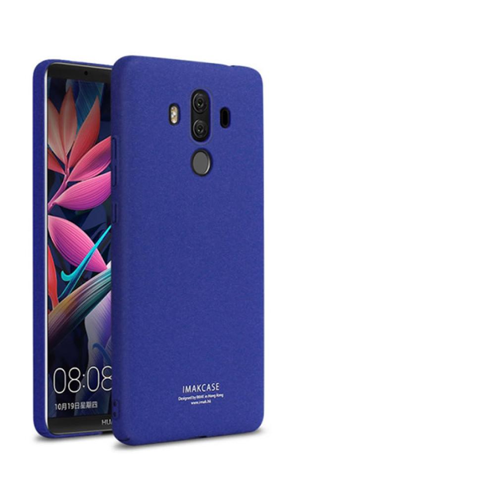 Чехол-накладка IMAK Creative cowboy case для Huawei Mate 10 Pro с кольцом синий