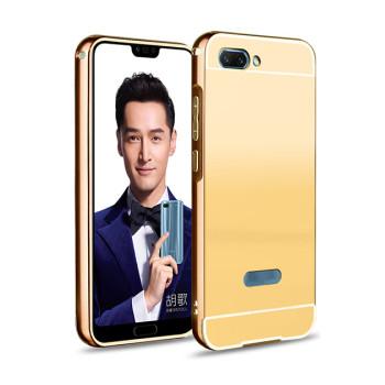 Металлический бампер Epik с акриловой вставкой с зеркальным покрытием для Huawei Honor 10