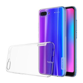 Прозорий силіконовий чохол Nillkin Nature для Huawei Honor 10 (clear white)