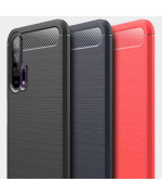 Чохол накладка Polished Carbon для Huawei Honor 20 Pro