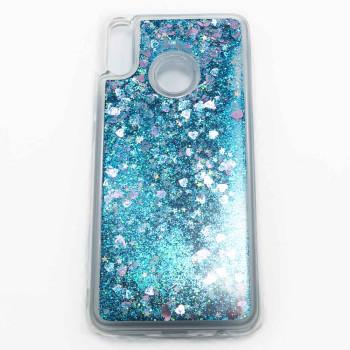 Силиконовый чехол накладка Epik Bling Sand Case для Huawei Honor 8X