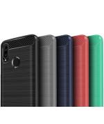 Чехол накладка Polished Carbon для Huawei Honor Play