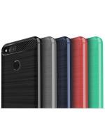 Чехол накладка Polished Carbon для Huawei Honor 7x