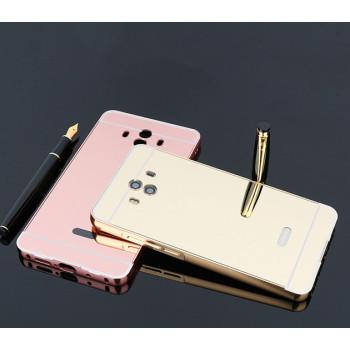 Металлический бампер Epik с акриловой вставкой с зеркальным покрытием для Huawei Mate 10 Pro