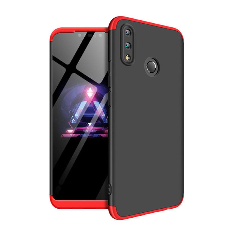 Чехол накладка GKK 360 для Huawei P Smart + (Plus)/ Huawei Nova 3i красный