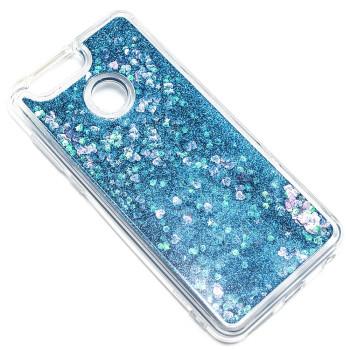 Силиконовый чехол накладка Epik Bling Sand Case для Huawei Nova 2 Plus