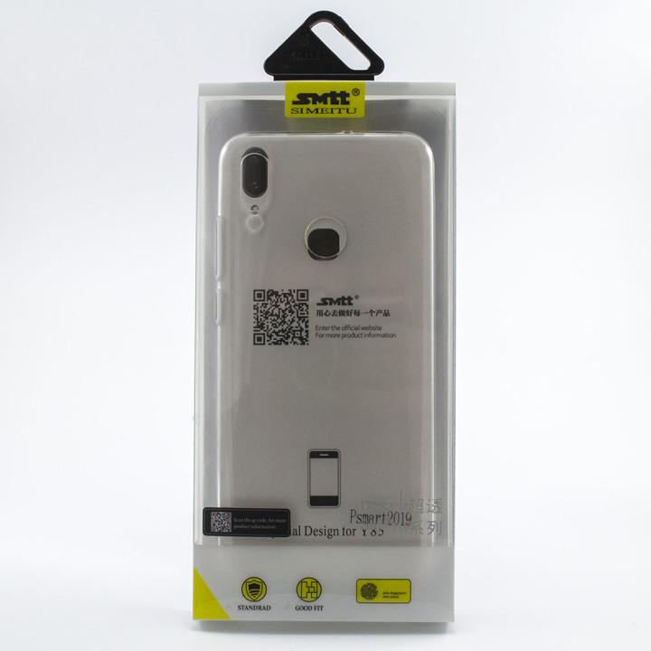Защитный чехол SMTT Simeitu для Huawei P Smart 2019 / Honor 10 lite (Прозрачный)