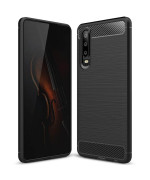 Чехол накладка Polished Carbon для Huawei P30