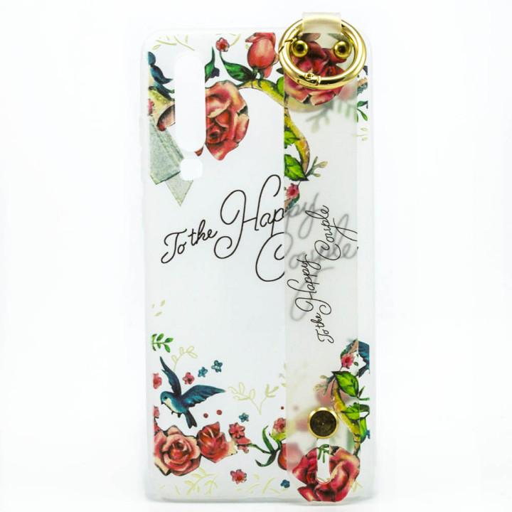 Силиконовый чехол накладка Epik Flowers для Huawei P30