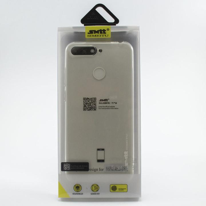Защитный чехол SMTT Simeitu для Huawei Y6 Prime 2018 (Прозрачный)