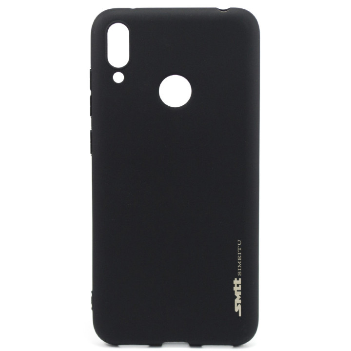 Защитный чехол SMTT Simeitu для Huawei Y7 2019, Black