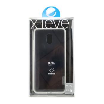 Чехол X-Level Antislip для Meizu M6, transparent