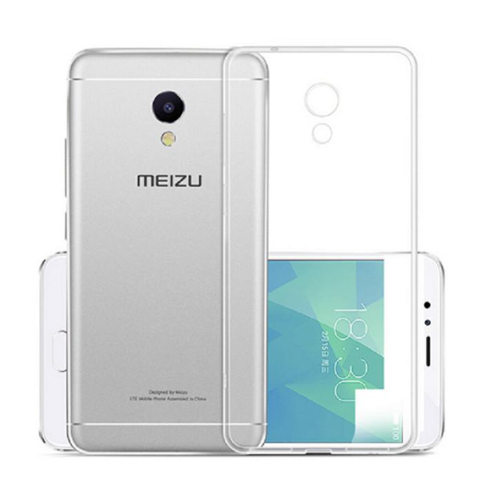 Силиконовый прозрачный чехол для Meizu m6s
