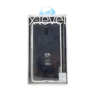 Чехол X-Level Antislip для Meizu M6 Note, transparent