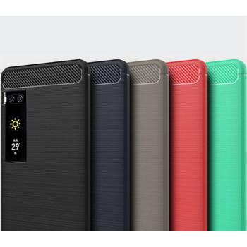 Чехол накладка Polished Carbon для Meizu Pro 7 Plus